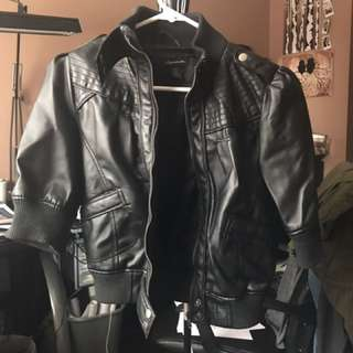 Black Polyester Jacket