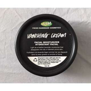 Lush Vanishing Cream Facial Moisturizer