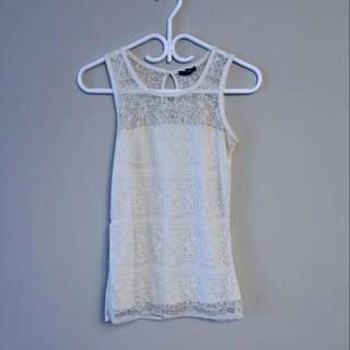 PRICE REDUCED! JACOB Lace Tank