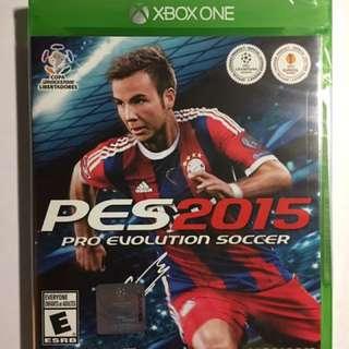 Brand New, Sealed Pro Evolution Soccer 2015 - Xbox One!