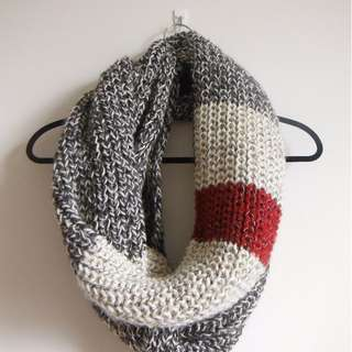 Roots chunky infinity scarf