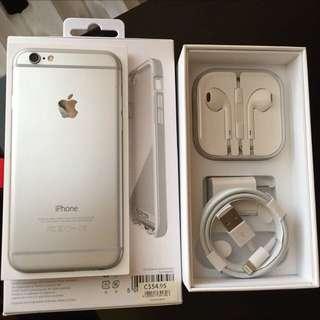 iPhone 6 16gb Silver Fido
