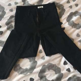 High Waisted, Black, Wrangler Jeans.