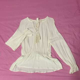 H&M White Blouse