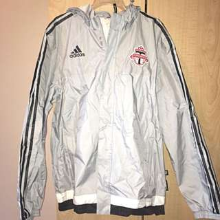 Men's Authentic Adidas Toronto FC Raincoat
