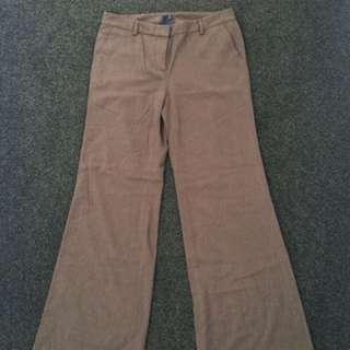 Gap Wide Leg Trouser Size 8