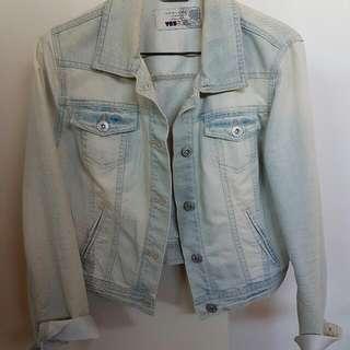 New Look Faded Denim Jacket