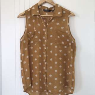 Glassons Polka Dot Top