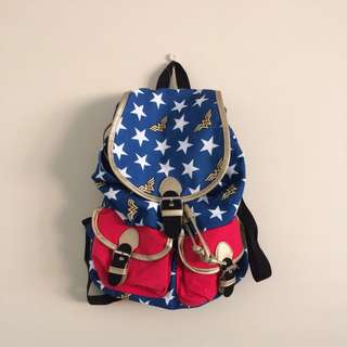 NEW Wonder Woman Backpack