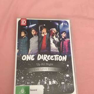 ONE DIRECTION UP ALL NIGHT (THE LIVE TOUR) DVD