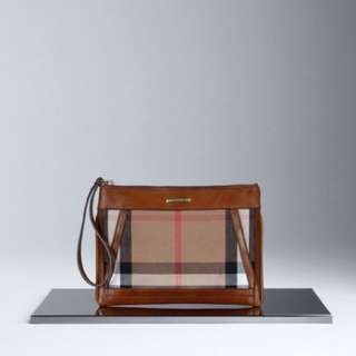 Burberry House Check Wristlet