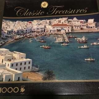 🇬🇷Mykonos Island Puzzle - Greece 1000 Pieces