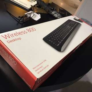 Microsoft Desktop Wireless 800