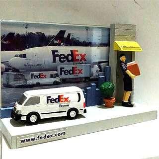 FedEx早期限量相框