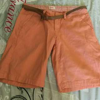 Peach Summer Shorts