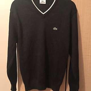 Men's Sport V-Neck Knit Lacoste Sweater