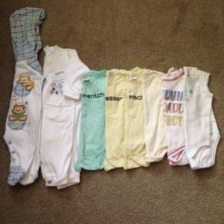 Unisex Bundle Of Body Suits