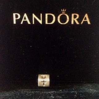 PRE-LOVED PANDORA FAITH HOPE AND LOVE CHARM