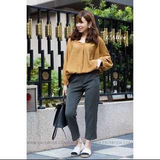 轉賣小巷裡版型完美灰色西裝褲s
