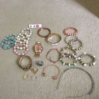 Assorted jewellery and accessories
