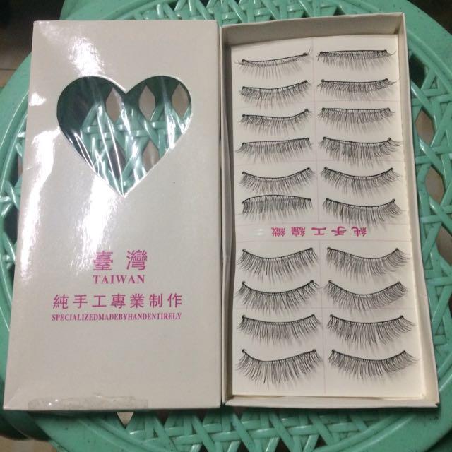 10pairs Of Eyelashes