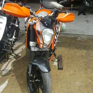 Duke 200 2013 Model