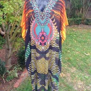 Kaftan Dress Floor Length