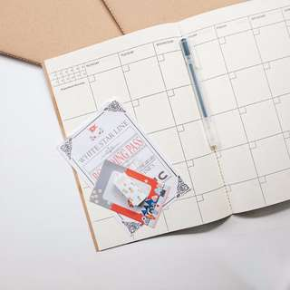 Simple Basic Planner Note