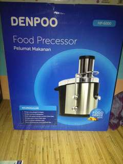 Food Processor Merk Denpo