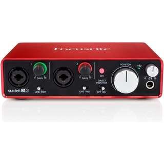 Focusrite Scarlett 2i2 Audio Interface 2nd Gen