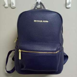 Brand New Navy Michael Kors BackPack