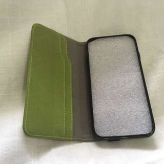 Leaf Green iPhone 6 / 6S Flip Wallet Case (Brand New Condition)