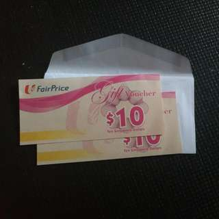 Fairprice Voucher Sgd20