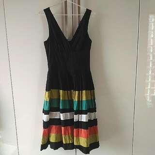 Colourful Midi Dress