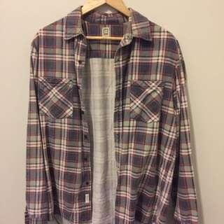 Insight Checked Shirt Size S