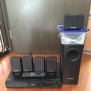 DVD Home Theater Sound System 5 Speakers