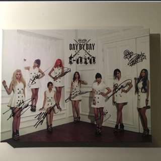 T-ara 'Day By Day' Autographed CD