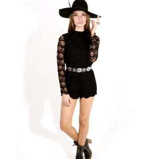Lenni the Label- Stoned Jumpsuit Black
