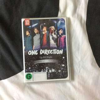 One direction - Up All Night The Live Tour DVD