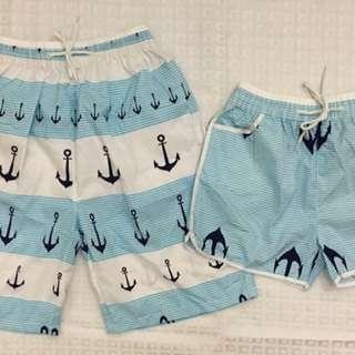 Couple Beach Shorts