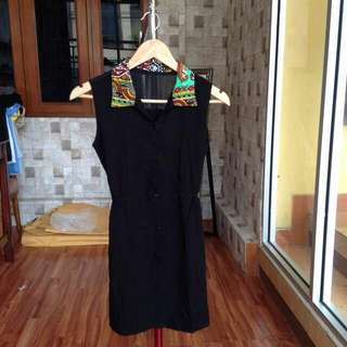 Black Batik Dress