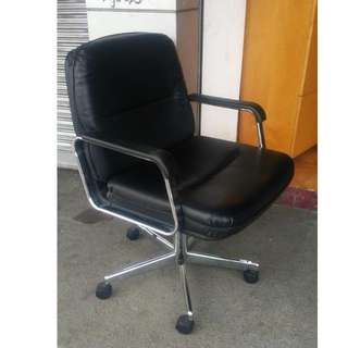 Clerical Chair with armrest- Japan's Surplus Office Furniture