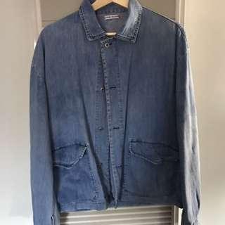 RARE vintage stone Island Denim Jacket