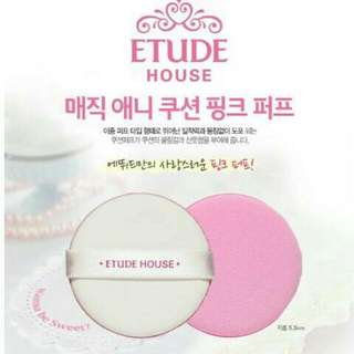 Etude My Beauty Tool Any Air Puff Pink Blue