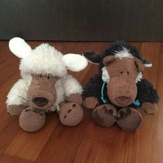 Wolf In Sheep Skin Dolls By Nici Germany