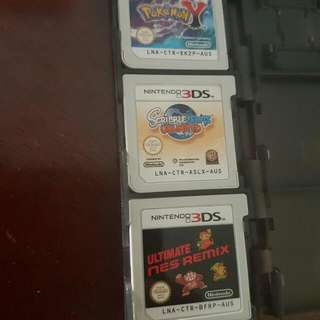 3 Games. Sold Seperately Or In A Bundle