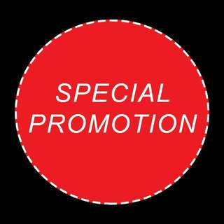 SPECIAL PROMOTIONS!!!