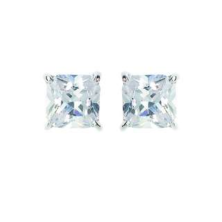 Georgini Sterling Silver Square Stud