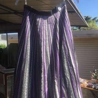 Vintage Circle Skirt Size 14-16