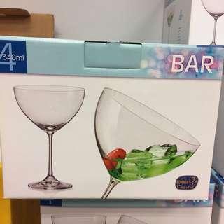 european crystaline-bohemia crystal champagne glass